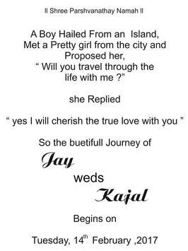 Creative Wedding Card - Jay screenshot 1