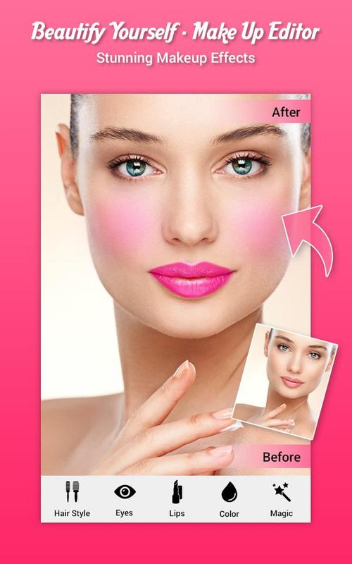 Beautify yourself make up editor apk download free photography beautify yourself make up editor poster solutioingenieria Image collections