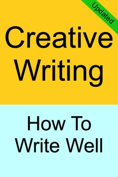 CREATIVE WRITING poster
