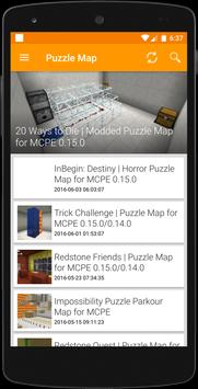 Puzzle Maps for MCPE poster