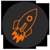 Rocket video downloader icon
