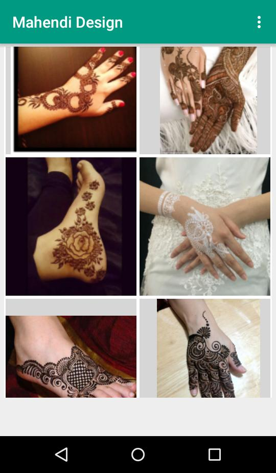 Mehndi Design New Style For Android Apk Download