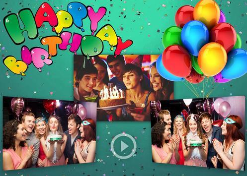 Birthday Slideshow With Music screenshot 3