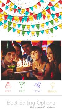 Birthday Slideshow With Music poster