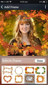Autumn Photo Video Maker With Music & Photo poster