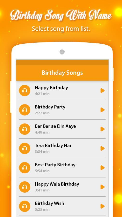 Birthday Song With Name for Android - APK Download