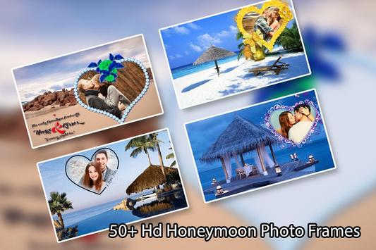 Honeymoon Photo Frame poster