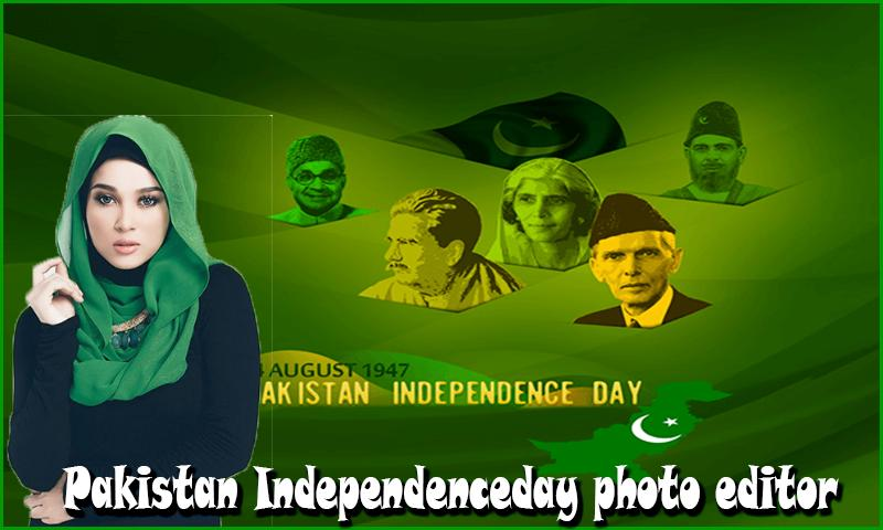 Pakistan Independence Day Photo Editor 2018 for Android