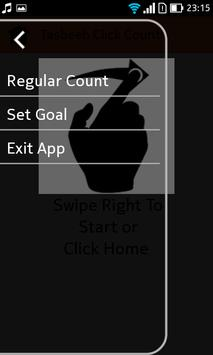 Click The Tasbeeh And Count apk screenshot