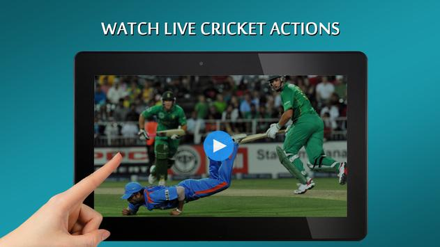 Cricket TV Live Free screenshot 1