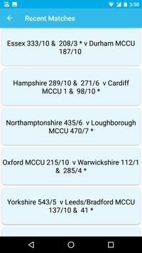 Live Cricket Score 2017 apk screenshot