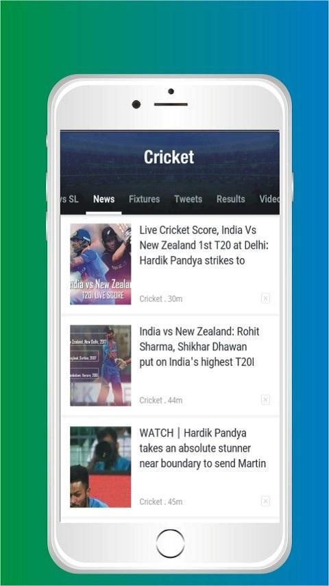 Cricket TV - Live matches, Scores, News and more for Android - APK