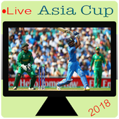Live Asia Cup TV & Asia Cup 2018 TV & Cricket TV icon