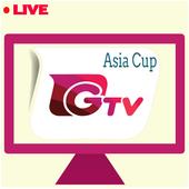 Gazi TV Live Asia Cup 2018 - Live Cricket Gazi TV icon