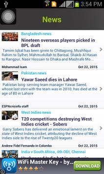 Live Cricket - WorldCup 2016 screenshot 3