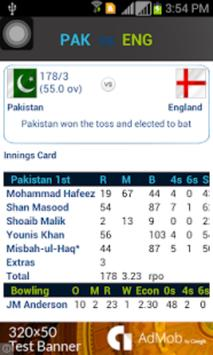 Live Cricket - WorldCup 2016 screenshot 2