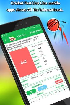 Cricket Live Line apk screenshot