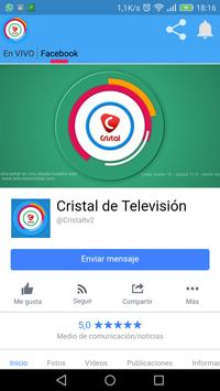 CANAL 2 CRISTAL BOLIVIA screenshot 1