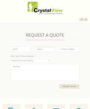 Crystal View Window-Cleaning poster