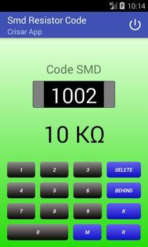 SMD Resistor Code poster