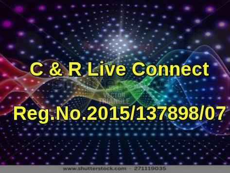 C&RLiveConnect poster