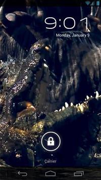Crocodile Attack Live Wallpap poster