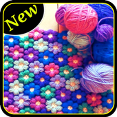 Crochet step by step icon