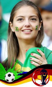 Football World Cup 2018 Photo Frame App screenshot 1