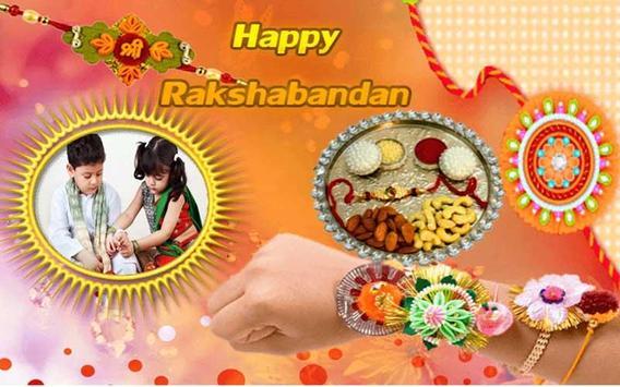Rakhi Photo Frame 2017 -  Happy Rakshabandhan poster
