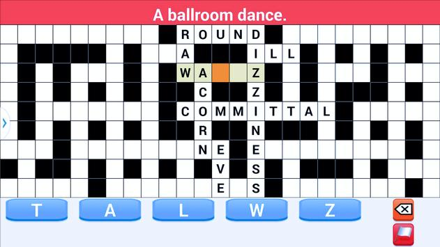 crossword puzzle 2018 screenshot 4