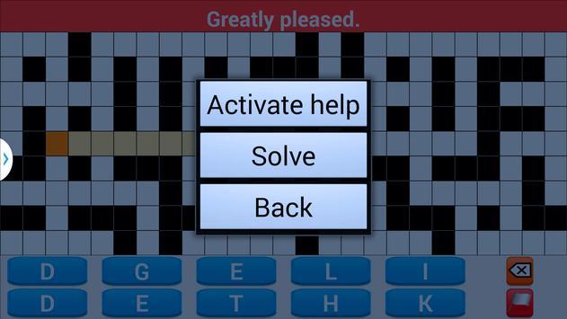 crossword puzzle 2018 screenshot 5