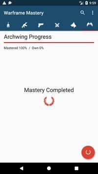 Warframe Mastery apk screenshot