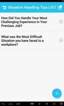 Situation Handling Tips apk screenshot
