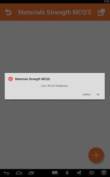 3 Schermata Materials Strength MCQs