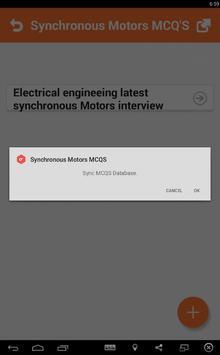 Synchronous Motors MCQs screenshot 3