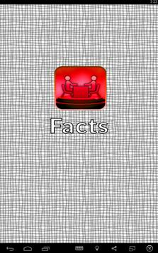Maths Facts poster