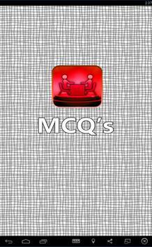 Mechanical Engineering MCQS poster