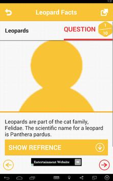 Leopard Facts screenshot 2