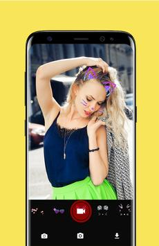 Photo Booth Heart Flower Crown  for Musically screenshot 1