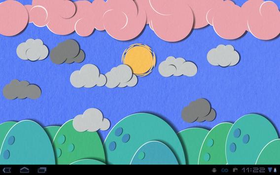 Paper Sky Live Wallpaper screenshot 11