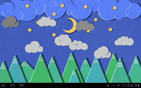 Paper Sky Live Wallpaper screenshot 12