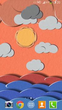 Paper Sky Live Wallpaper screenshot 2