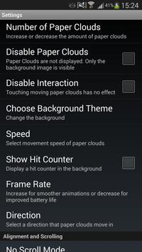 Paper Sky Live Wallpaper screenshot 5