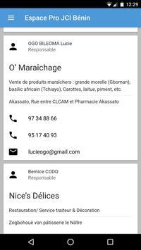 Annuaire JCI Benin screenshot 3