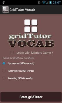 Play Vocab on gridTutor poster