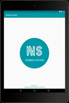 Number System apk screenshot