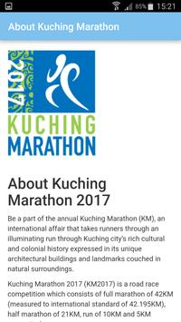 Kuching Marathon Association screenshot 1