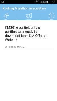 Kuching Marathon Association screenshot 4