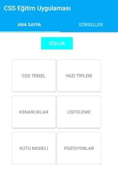 CSS Eğitim apk screenshot