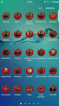 Black Skrywalker - Icon Pack screenshot 1